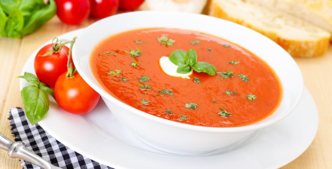 DietMed - Sopa de Tomate e Espinafres