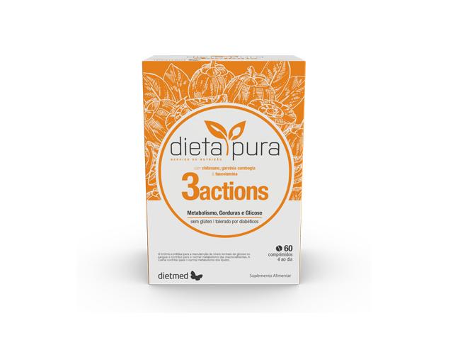 DIETA PURA 3 ACTIONS | 60 comprimidos