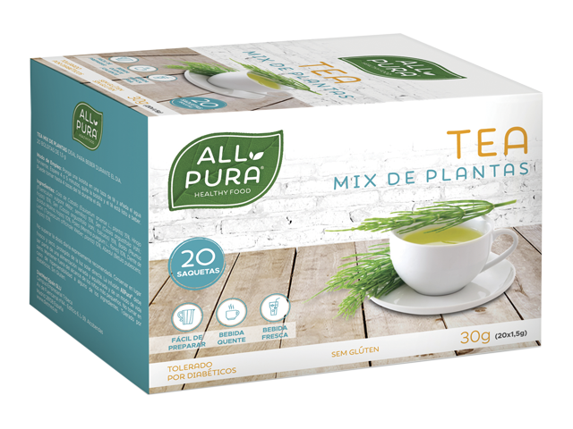 ALLPURA TEA MIX PLANTAS | 20 saquetas