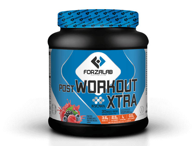 FORZALAB POST-WORKOUT XTRA 450G | FRUTOS VERMELHOS