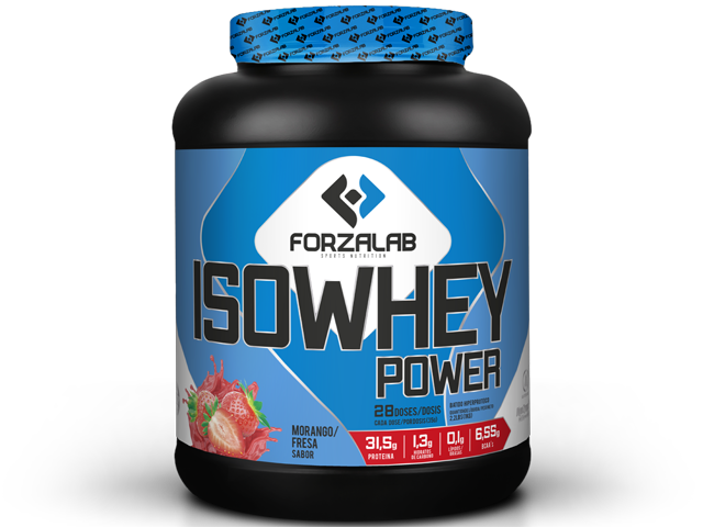FORZALAB ISO WHEY POWER 1000G | MORANGO