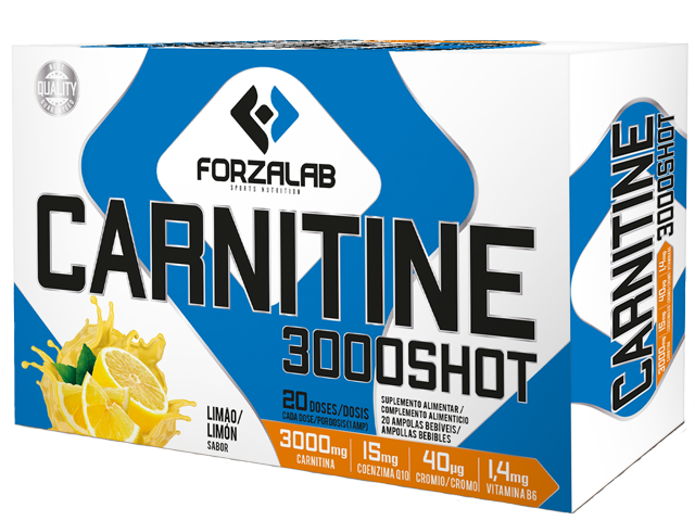 FORZALAB CARNITINE 3000 SHOT 20X15ML | LIMAO
